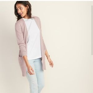 Old Navy Open-Front Long-Line Sweater